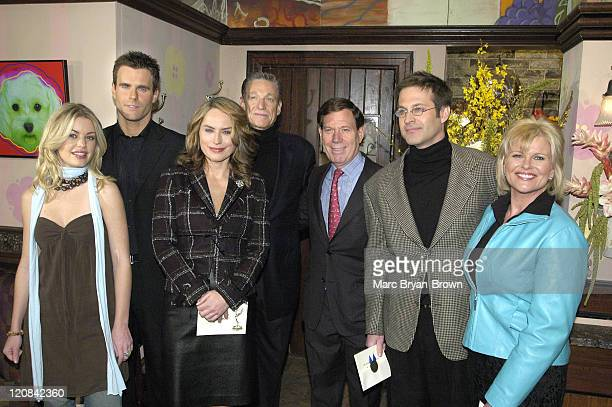 Bree Williamson Cameron Mathison Crystal Chappell Maury Povich Peter Price Jon Hensley and Judi Evans