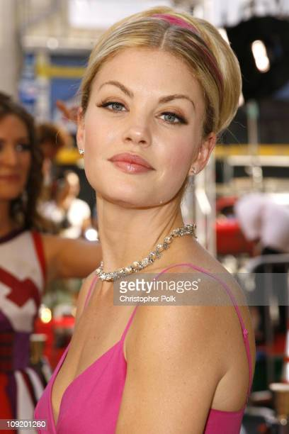 Bree Williamson during 34th Annual Daytime Emmy Awards Red Carpet at Kodak Theatre in Hollywood California United States