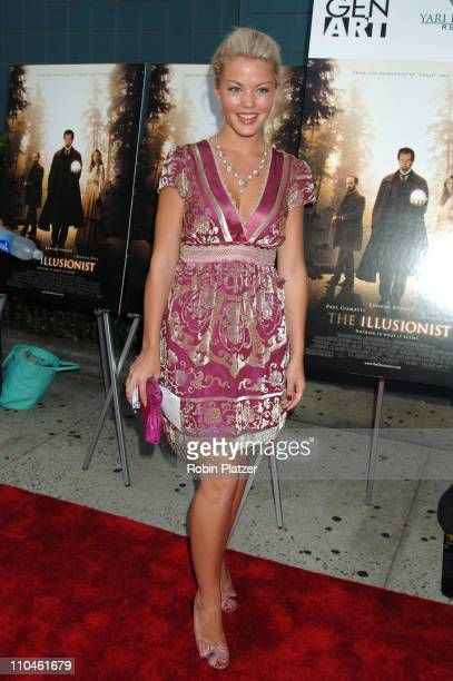 Bree Williamson during 'The Illusionist' New York Premiere Arrivals at Clearview Chelsea West in New York City New York United States
