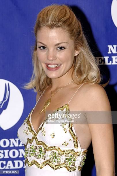 Bree Williamson of All My Children during The 32nd Annual Creative Craft Daytime Emmy Awards at Mariott Marquis Hotel in New York City New York...