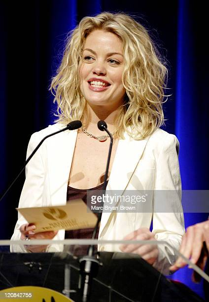 Bree Williamson presenter during 31st Annual NATAS Daytime Emmy Craft Awards Show at Mariott Marquis in New York City New York United States