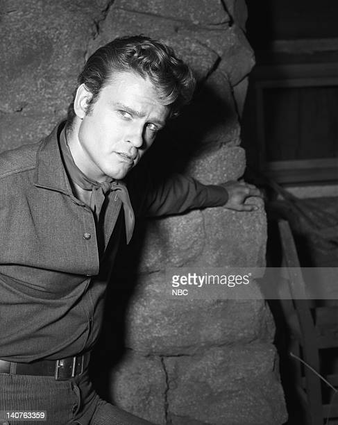 BONANZA Breed of Violence Episode 9 Pictured John Ericson as Vince Dagen Photo by NBC/NBCU Photo Bank