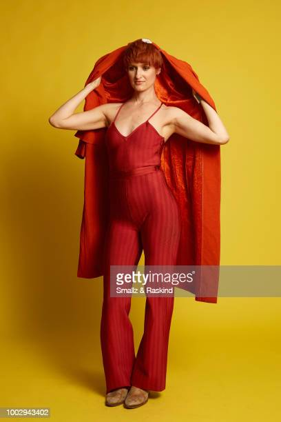 Breeda Wool from ATT AUDIENCE Network's 'Mr Mercedes' poses for a portrait in the Getty Images Portrait Studio powered by Pizza Hut at San Diego 2018...