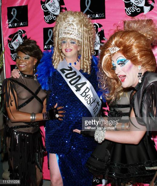 Breedem Young and The Dobermans during 4th Annual Best in Drag Show to Benefit Aid for AIDS at WilshireEbell Theater in Los Angeles California United...