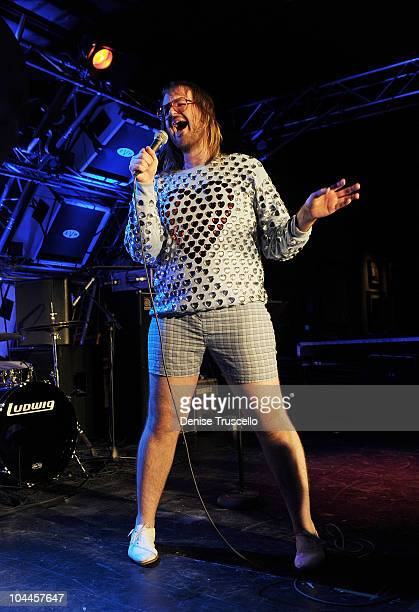 Breedlove performs at Hard Rock Cafe on September 26 2010 in Las Vegas Nevada