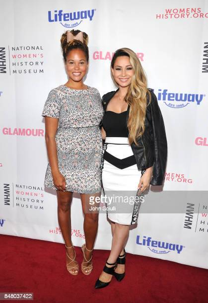 Breegan Jane and T Lopez at the Women Making History Awards at The Beverly Hilton Hotel on September 16 2017 in Beverly Hills California