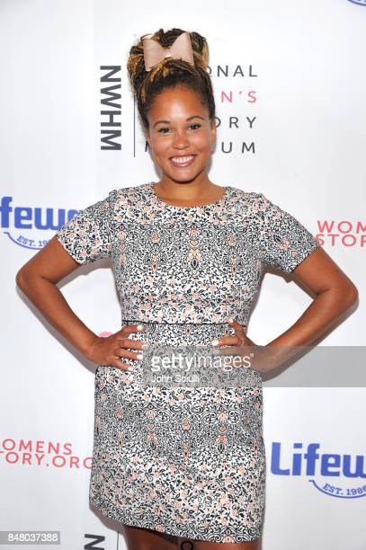 Breegan Jane at the Women Making History Awards at The Beverly Hilton Hotel on September 16 2017 in Beverly Hills California
