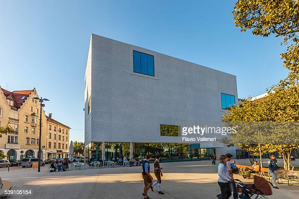 bregenz, vorarlberg museum – österreich - vorarlberg stock-fotos und bilder