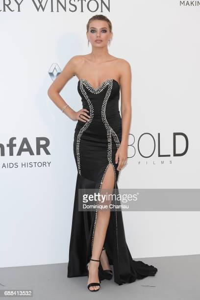 Bregje Heinen arrives at the amfAR Gala Cannes 2017 at Hotel du CapEdenRoc on May 25 2017 in Cap d'Antibes France