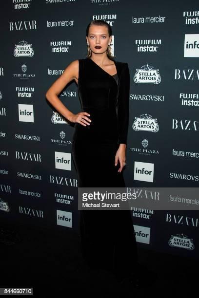 Bregje Heinen attends 2017 Harper's Bazaar Icons at The Plaza Hotel on September 8 2017 in New York City
