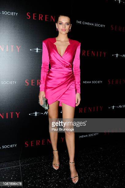 Bregje Heinen attends Aviron Pictures With The Cinema Society Host A Special Screening Of Serenity at Museum of Modern Art on January 23 2019 in New...