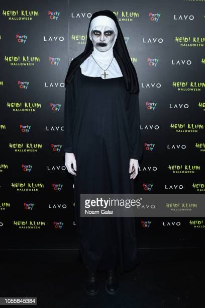 Bregje Heinen attends Heidi Klum's 19th Annual Halloween Party presented by Party City and SVEDKA Vodka at LAVO New York on October 31 2018 in New...