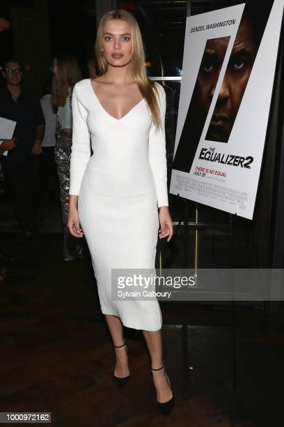 Bregje Heinen attends Sony Pictures Hosts A Special Screening Of The Equalizer 2 on July 17 2018 in New York City