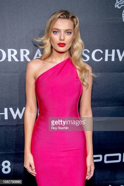 Bregje Heinen attends the 2018 Angel Ball at Cipriani Wall Street on October 22 2018 in New York City