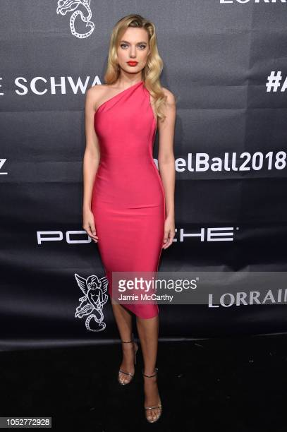 Bregje Heinen attends the 2018 Angel Ball hosted by Gabrielle's Angel Foundation at Cipriani Wall Street on October 22 2018 in New York City