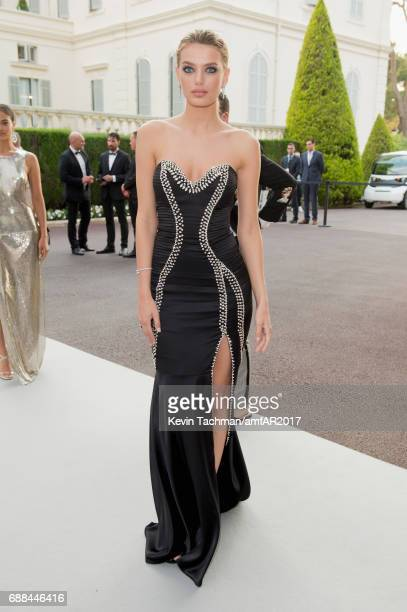 Bregje Heinen attends the amfAR Gala Cannes 2017 at Hotel du CapEdenRoc on May 25 2017 in Cap d'Antibes France