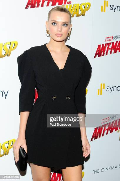 Bregje Heinen attends The Cinema Society With Synchrony And Avion Host A Screening Of Marvel Studios' AntMan And The Wasp at The Museum of Modern Art...