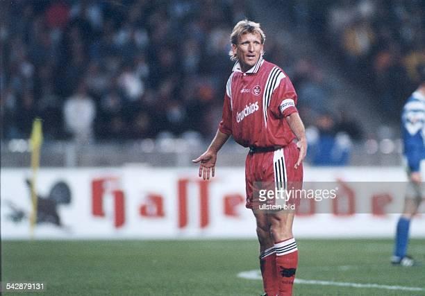 Brehme Andreas *Fussballspieler Trainer DSpieler der Nationalmannschaft 19841994Weltmeister 1990 als Spieler vom 1 FC Kaiserslautern traegt die...