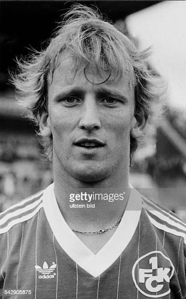 Brehme Andreas *Fussballspieler Trainer DSpieler der Nationalmannschaft 19841994Weltmeister 1990 als Spieler beim 1FC Kaiserslautern November 1984