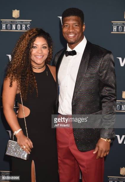 Breion Allen and NFL player Jameis Winston attend 6th Annual NFL Honors at Wortham Theater Center on February 4 2017 in Houston Texas