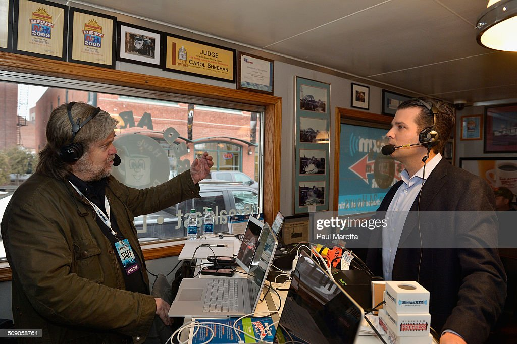 Breitbart News Daily Stephen K  Bannon interviews Donald