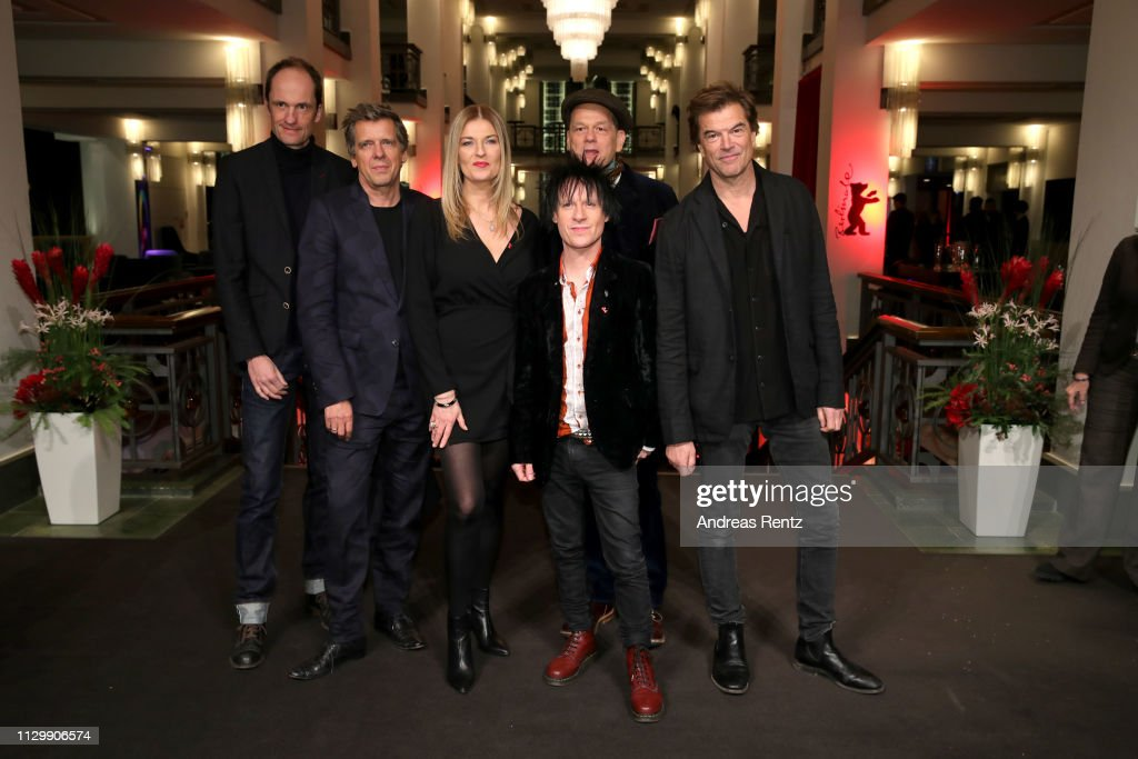 "DEU: ""You Only Live Once - Die Toten Hosen On Tour"" Premiere  - 69th Berlinale International Film Festival"