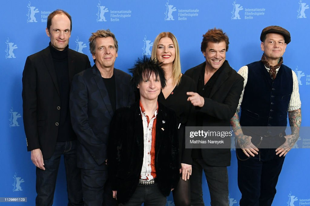 "DEU: ""You Only Live Once - Die Toten Hosen On Tour"" Photocall - 69th Berlinale International Film Festival"