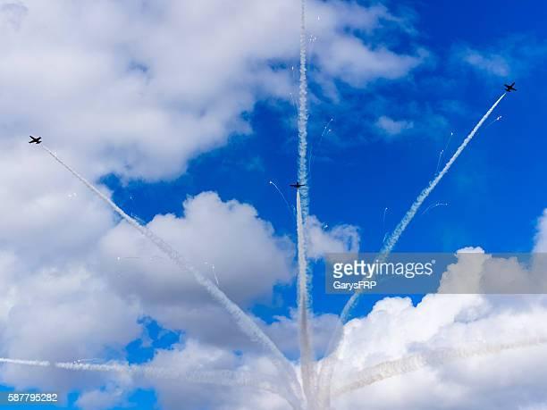 Breitling Jet Team Flying Air Show Smoke Fireworks Hillsboro Oregon
