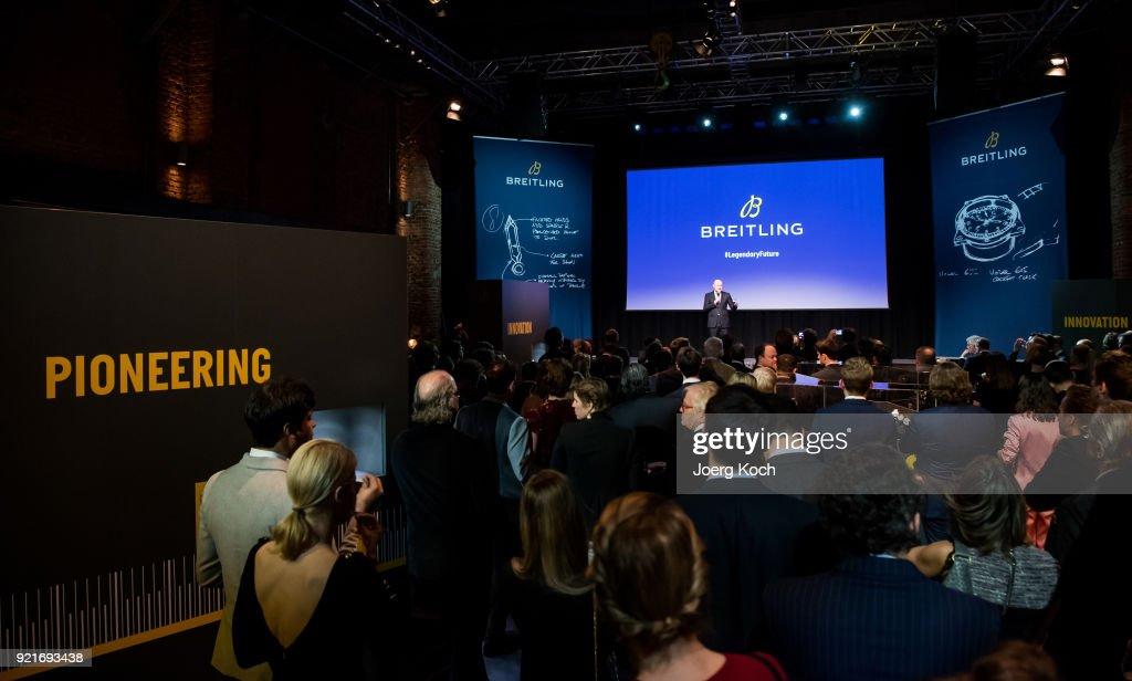 Breitling '#LEGENDARYFUTURE' Navitimer 8 Munich