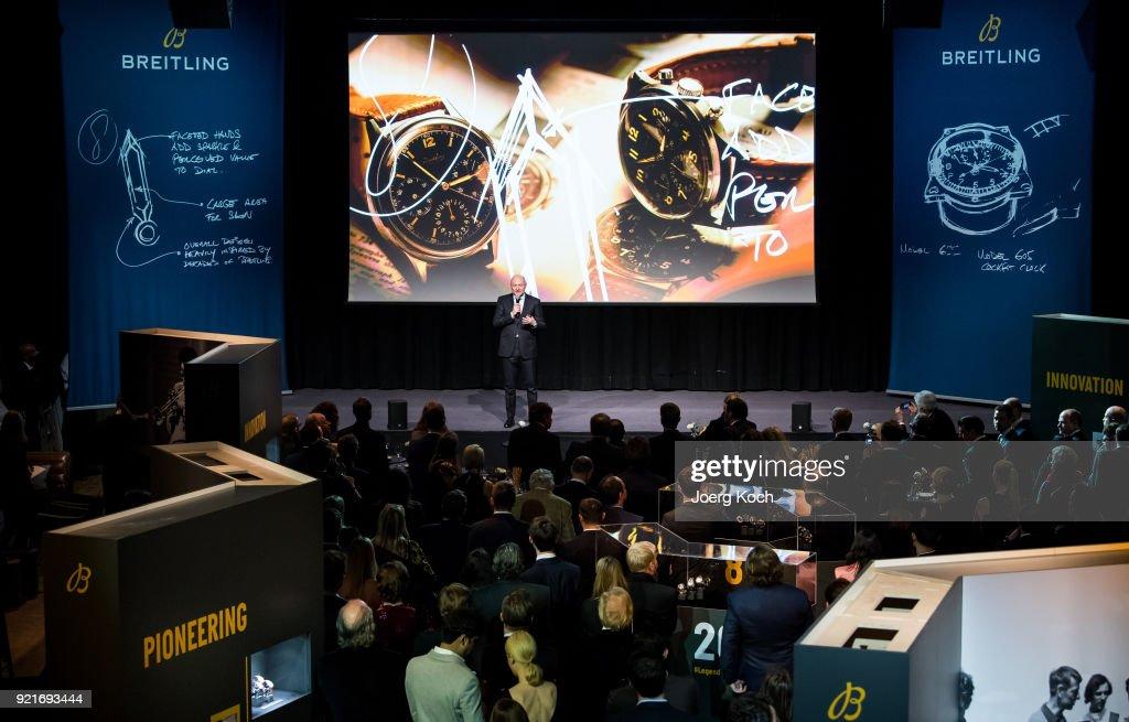 Breitling Roadshow '#LEGENDARYFUTURE' Navitimer 8, Munich : Foto di attualità