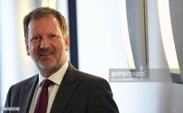Lutz Bertling from 1 April 2018 member of the OHB SE management board for corporate development space services and digitalization pictured during the...