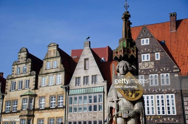 Bremen Market Square Roland Statue