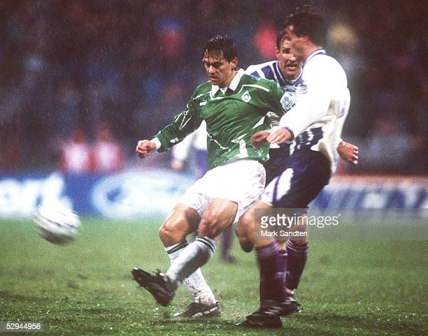 LEAGUE 93/94 Bremen SV WERDER BREMEN RSC ANDERLECHT 53 Wynton RUFER/BREMEN