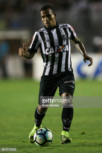 Bremer of Atletico MG controls the ball during a match between Vasco da Gama and Atletico MG as part of Brasileirao Series A 2017 at Sao Januario...