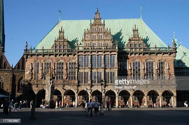 Bremer Rathaus Bremen Deutschland Europa Marktplatz Reise UB