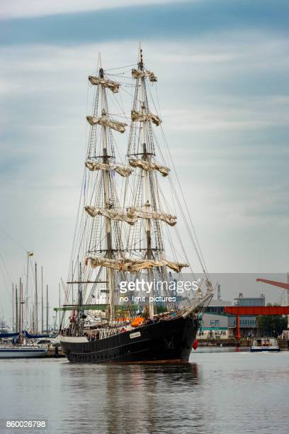 Bremerhaven sailing boat