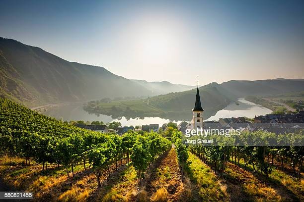 bremm at sunrise - germany stock pictures, royalty-free photos & images