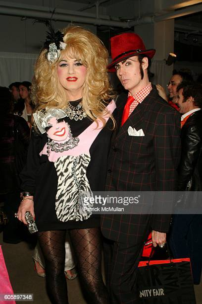 Brenda A GoGo and Patrick McDonald attend AMANDA LEPORE DOLL cocktail party at Jeffrey on April 11 2006 in New York City