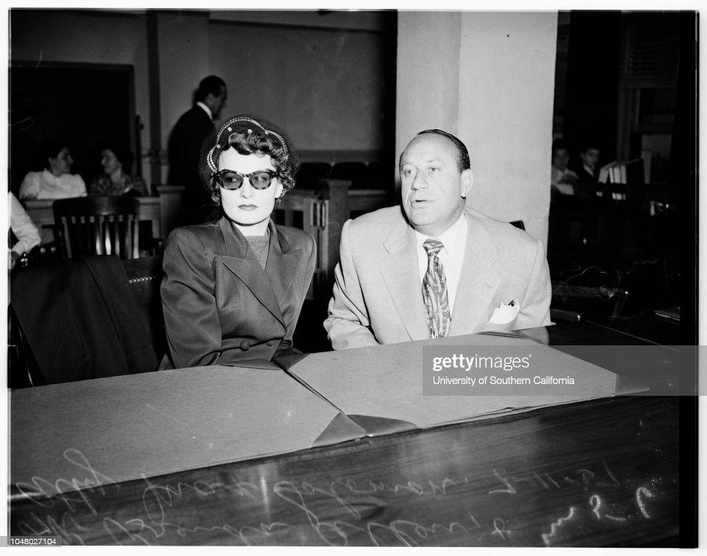 Brenda Allen Released On Probation July 11 1951 Brenda News
