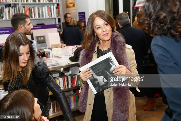 Brenda Altmayer attends the launch and book signing of Mastermind Magazine as part of Paris Fashion Week Womenswear Fall/Winter 2017/2018 at...