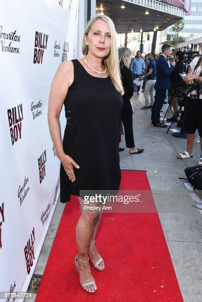 Brenda Bakke attends Billy Boy Los Angeles Premiere Red Carpet at Laemmle Music Hall on June 12 2018 in Beverly Hills California