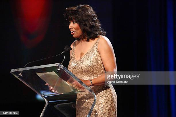 Brenda Blackmon attends the 55th Annual New York Emmy Awards gala at the Marriott Marquis Times Square on April 1 2012 in New York City