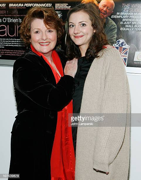 Brenda Blethyn and Beth Cooke attend the opening night of Haunted at 59E59 Theaters on December 8 2010 in New York City