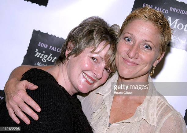 Brenda Blethyn and Edie Falco during 'Night Mother' Photocall to Meet Edie Falco and Brenda Blethyn at Trattoria Dopo Teatro in New York City NY...