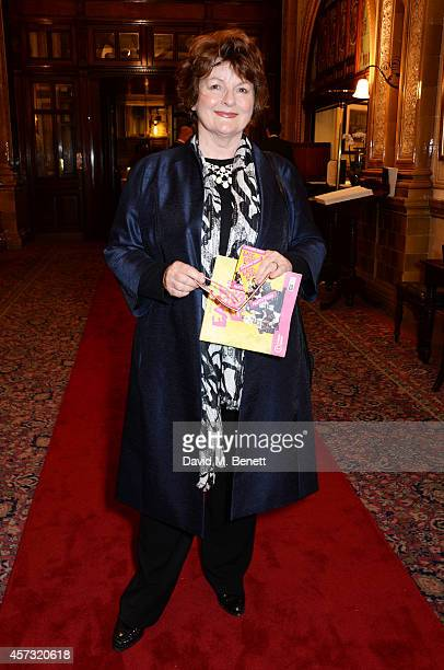 Brenda Blethyn attends an after party celebrating the gala opening night performance of 'East Is East' playing at the Trafalgar Studios at One...