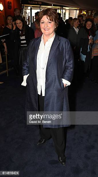 Brenda Blethyn attends the 'Ethel Ernest' screening during the 60th BFI London Film Festival at The Curzon Mayfair on October 15 2016 in London...