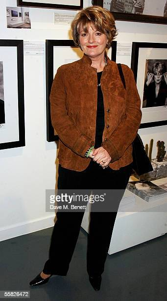 Brenda Blethyn attends the Private View for Andy Gotts Degrees at the Getty Images Gallery on September 29 2005 in London England The show features...