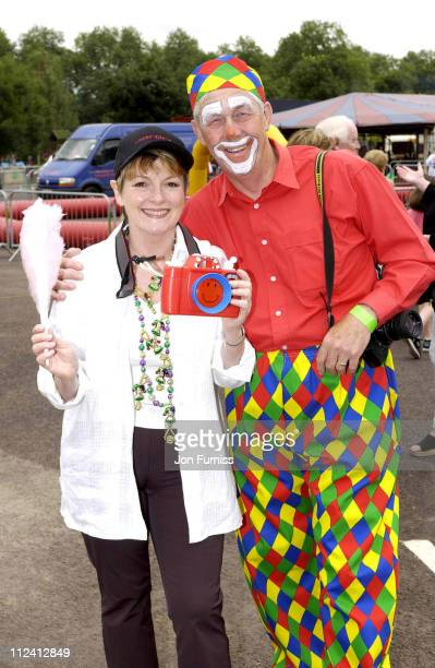 Brenda Blethyn during 15th Amazing Great Children's Party In Aid Of Children With Leukaemia at Battersea Park in London Great Britain