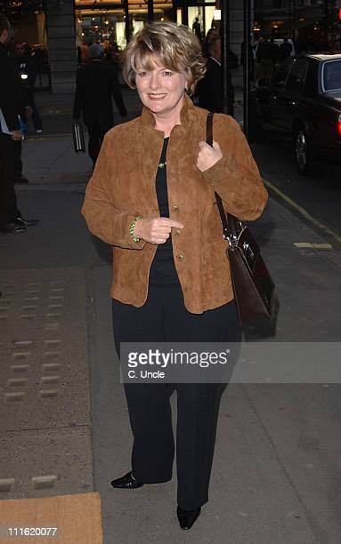 Brenda Blethyn during 'Andy Gotts Degrees' Private View at Getty Images Gallery 46 Eastcastle Street in London Great Britain