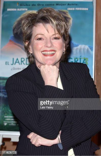 Brenda Blethyn during Brenda Blethyn at Promotional Photocall Before the Spanish Premire of Saving Grace at Villa Real Hotel in Madrid Spain